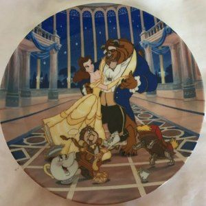 Beauty and the Beast Plate Loves First Dance